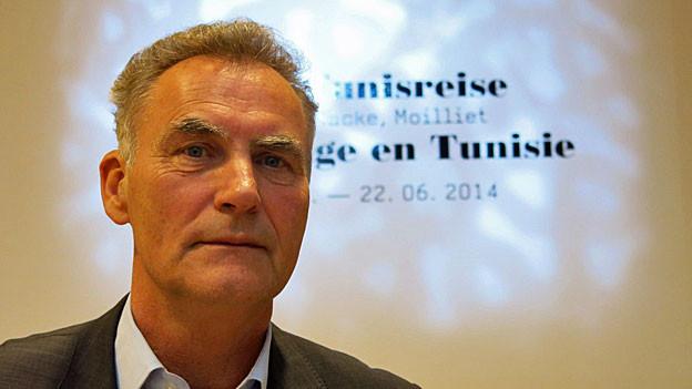 Michael Baumgartner, Kurator der «Tunisreise» im Zentrum Paul Klee in Bern.