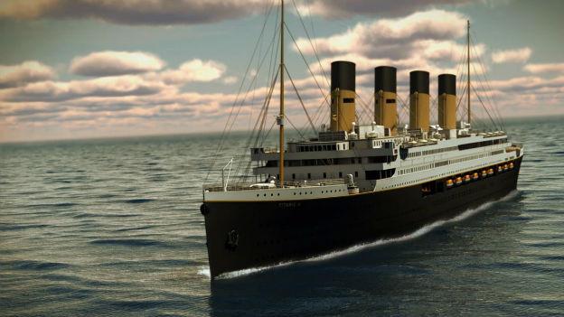 Die Titanic - unterwegs zur Katastrophe