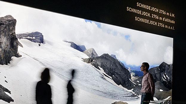 Ein Blick in die Ausstellung im Bernischen Historischen Museum.