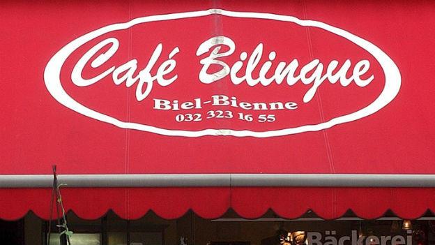 War einmal: Café bilingue in Biel-Bienne