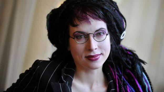 Die finnische Autorin Sofie Oksanen.