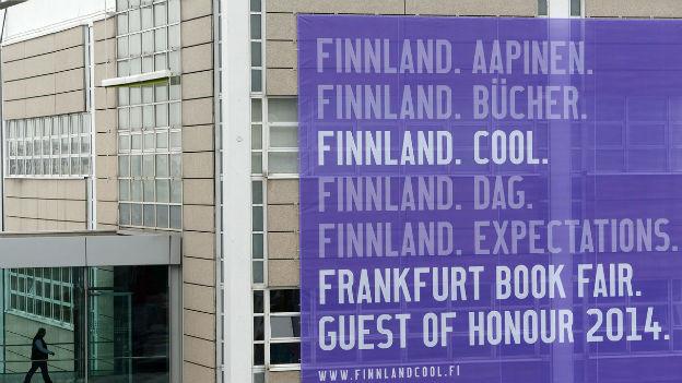 Finnland ist Gastland an der Buchmesse Frankfurt.