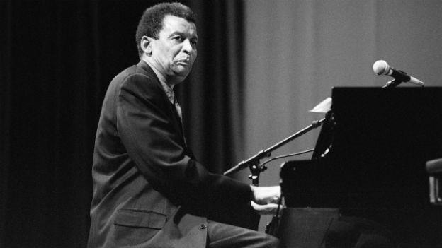 Abdullah Ibrahim 1994 am Jazzfestival in Zürich.