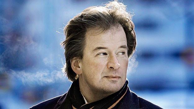 Der finnische Autor Kjell Westö.