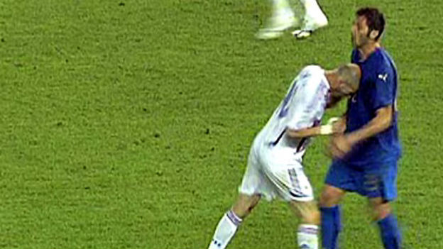 Zidanes Kopfstoss
