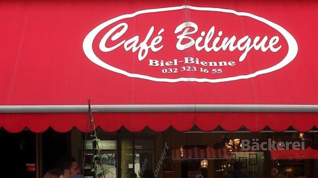 Jalousie vom Bieler Café Bilingue.