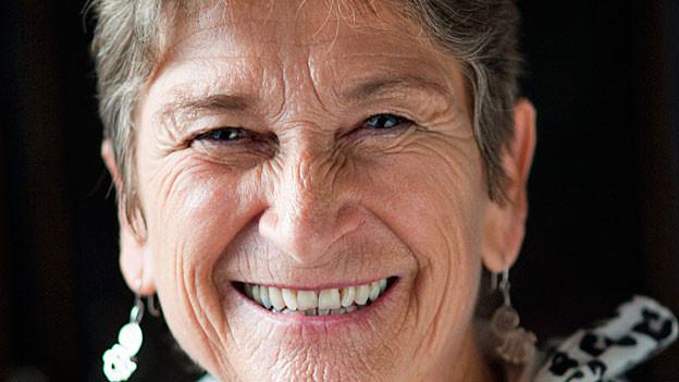 Ursula Hauser. Portraitbild.