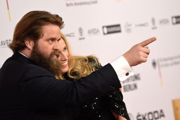 Antoine Monot an der europäischen Filmpreis-Gala in Berlin.
