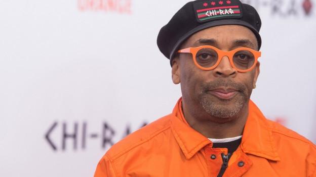 Der schwarze Regisseur Spike Lee.