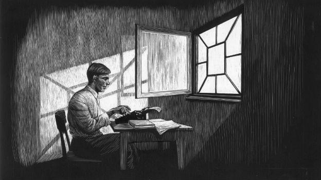 Der gezeichnete Autor