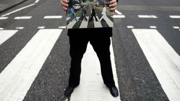 Ein Klassiker der musikalischen Bilder: Abbey Road