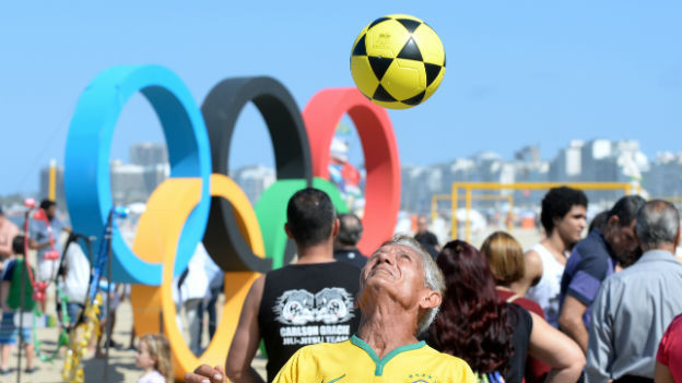 5 Ringe für Rio