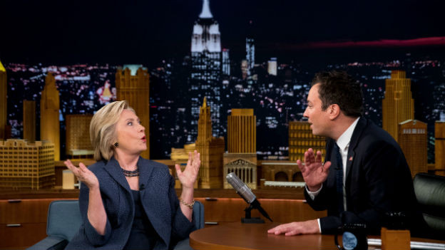 Hillary Clinton bei Jimmy Fallon