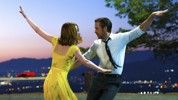Emma Stone und Ryan Gosling tanzen in «La La Land».