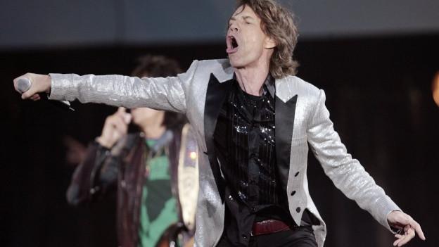 Die Rolling Stones 2006 auf dem ehemaligen Flugplatz Dübendorf: Einer der grossen Coups des Veranstalters abc Production