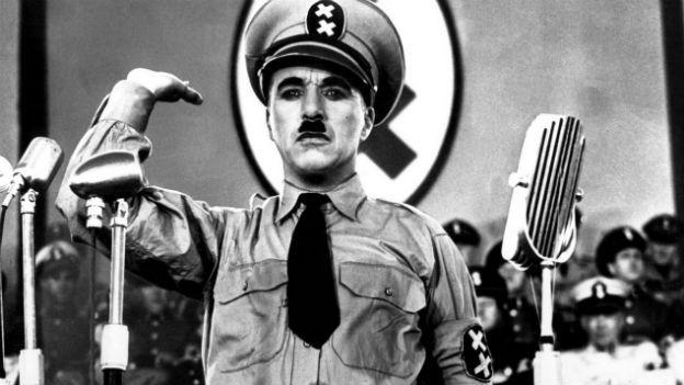 Chaplin als grosser Diktator
