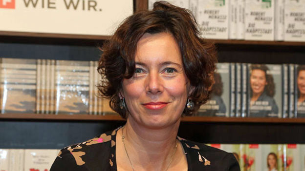Eva Menasse an der BUCH WIEN am 9. November 2017.
