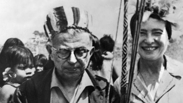 Mittendrin und debattierfreudig: DeBeauvoir und Sartre