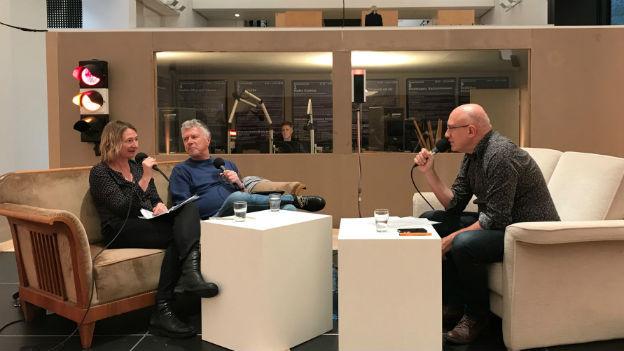Ariane Gigon, Ernst Buchmüller und Eric Facon