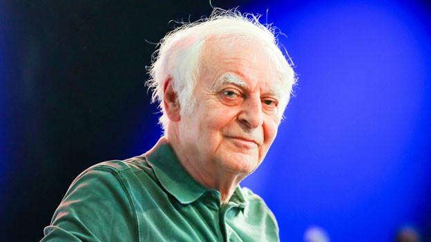 Der Schweizer Schriftsteller Adolf Muschg.