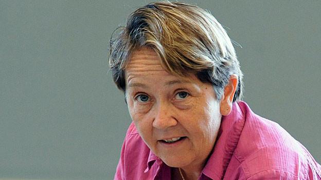Die St. Galler SP-Nationalrätin Hildegard Fässler.