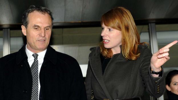 Reto Brunett und seine Anwältin