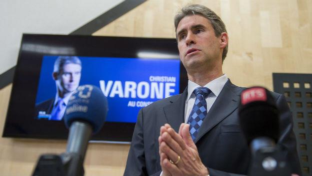 Christian Varone, Kandidat für den Staatsrat