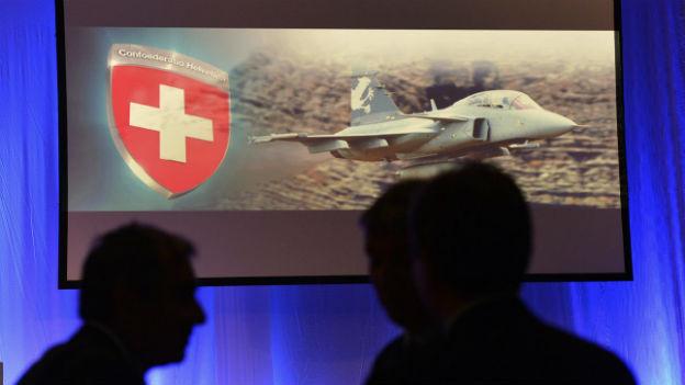 Schweiz soll 22 Gripen-Kampfflugzeuge kaufen