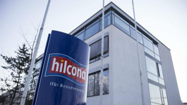 Hauptsitz des Lebensmittelverarbeiters Hilcona in Schaan, Lichtenstein.