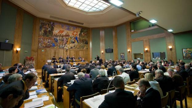 Keine CVP-Mehrheit mehr im Walliser Grossen Rat.