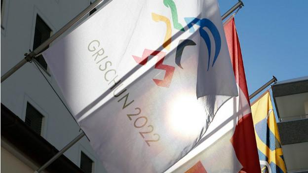 Die Fahnen der Olympischen Spiele wehen nicht im Graubünden