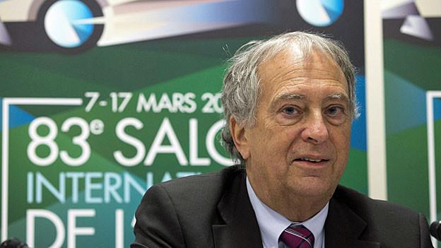 André Hefti, Autosalon-Direktor.