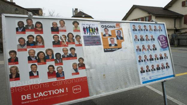 Aussergewöhnliches vor den Wahlen in Neuenburg.