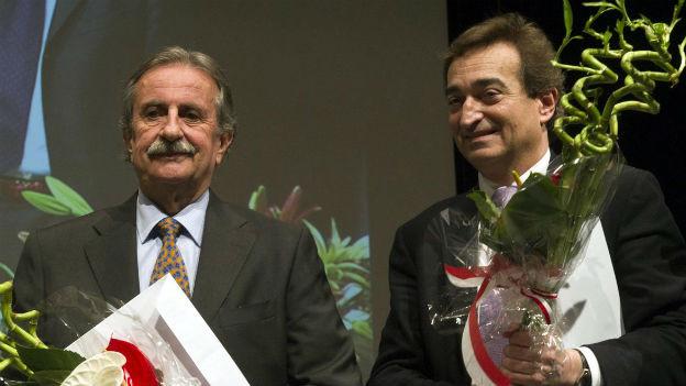 Ein Verlierer, ein Sieger: Giudici (links) und Borradori (rechts)