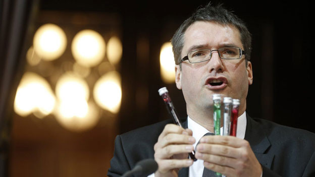 Christian Levrat, Präsident der SP.
