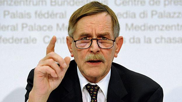 Pierre Triponez, seit anderthalb Jahren Präsident der Oberaufsichts-Kommission Berufliche Vorsorge.