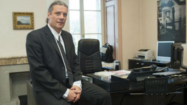 Oskar Freysinger von der SVP ist neuer Walliser Erziehungsdirektor.