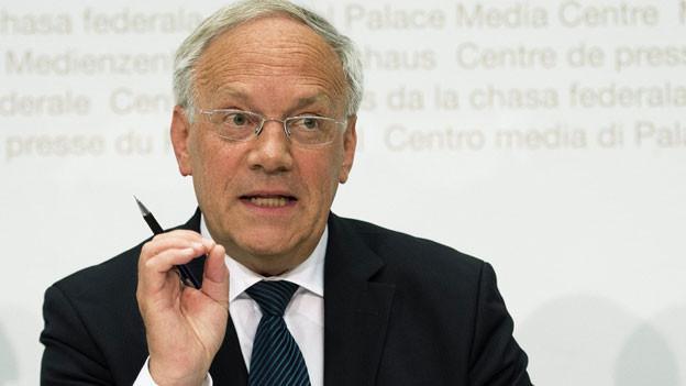 Johann Schneider-Ammann, Bundesrat.