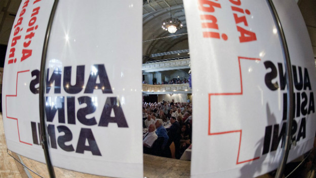 Symbolbild: AUNS-Versammlung 2012.