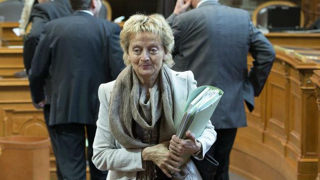 Eveline Widmer-Schlumpf am Mittwoch in der Ständeratsdebatte