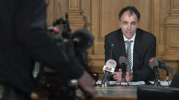 WAK-Präsident Christophe Darbellay am Donnerstag abend.