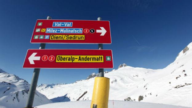 Das neue Skigebiet ist auf guten Wegen.