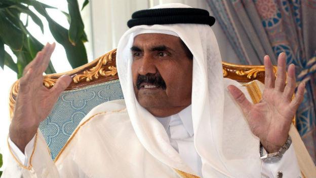 Hamad bin Chalifa al-Thani: Über die genauen Gründe für seinen Rücktritt kan man nur spekulieren.