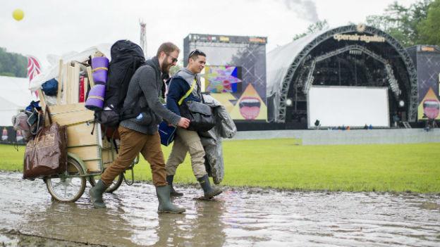 Das Wetter kann den wirtschaftlichen Erfolg eines Festivals beeinflussen (Bild: Openair St. Gallen).