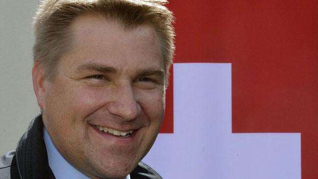 SVP-Parteipräsiedent Toni Brunner.