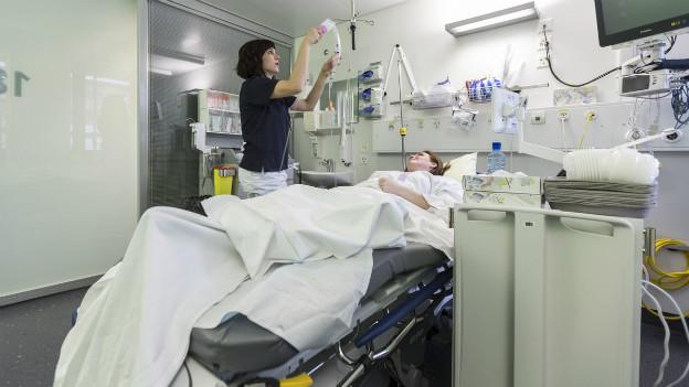 In Schweizer Spitälern wächst die Antibiotoka-Resistenz rasant. (Symbolbild)