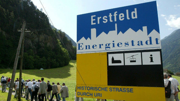 Seit 12 Jahren trägt Erstfeld das Label «Energiestadt».