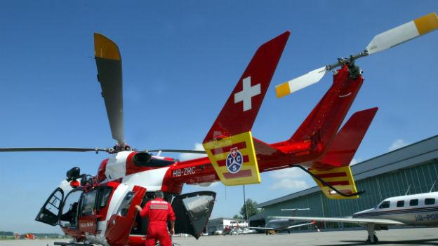 Entscheid im Rettungshelikopterstreit.