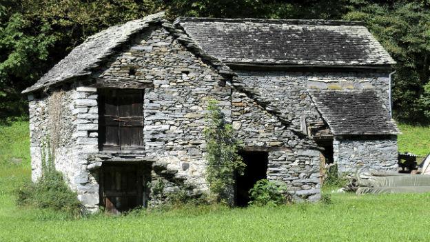 Rustici im Maggiatal.