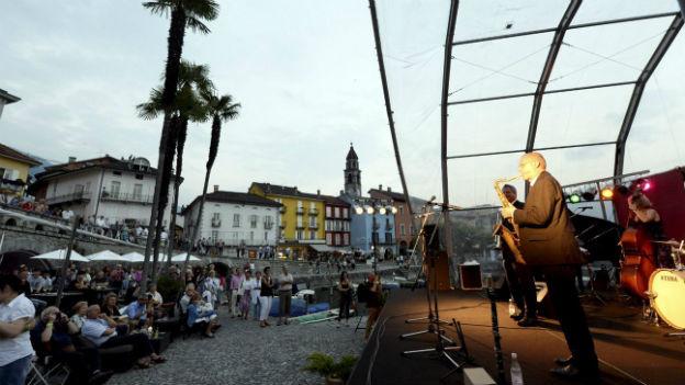 Die Ambiance beim «Jazz Ascona» im Juni 2013.